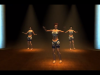 "Zeina-belly dance 3D animation: Motion Capture <a href=""http://youtu.be/lf1fL5MbV3E"">View Animation</a>"